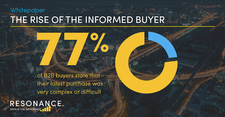THE ERA OF THE INFORMED BUYER: HOW TO INFLUENCE IT DECISION-MAKERS