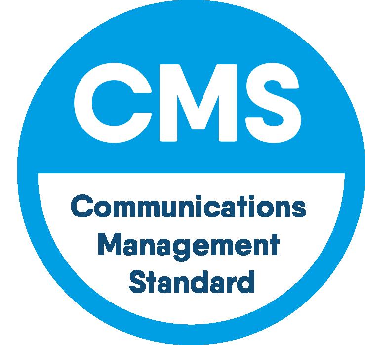 Resonance Awarded PRCA Communication Management Standard