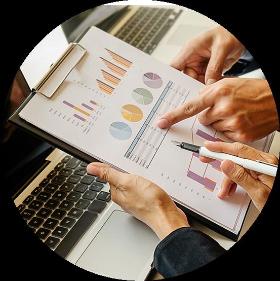 Analysing data charts