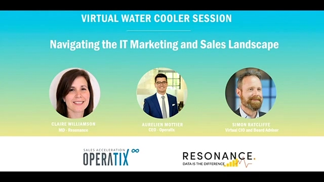 WATER-COOLER SESSION: HOW TO MARKET AND SELL TO IT DECISION MAKERS DURING THE PANDEMIC